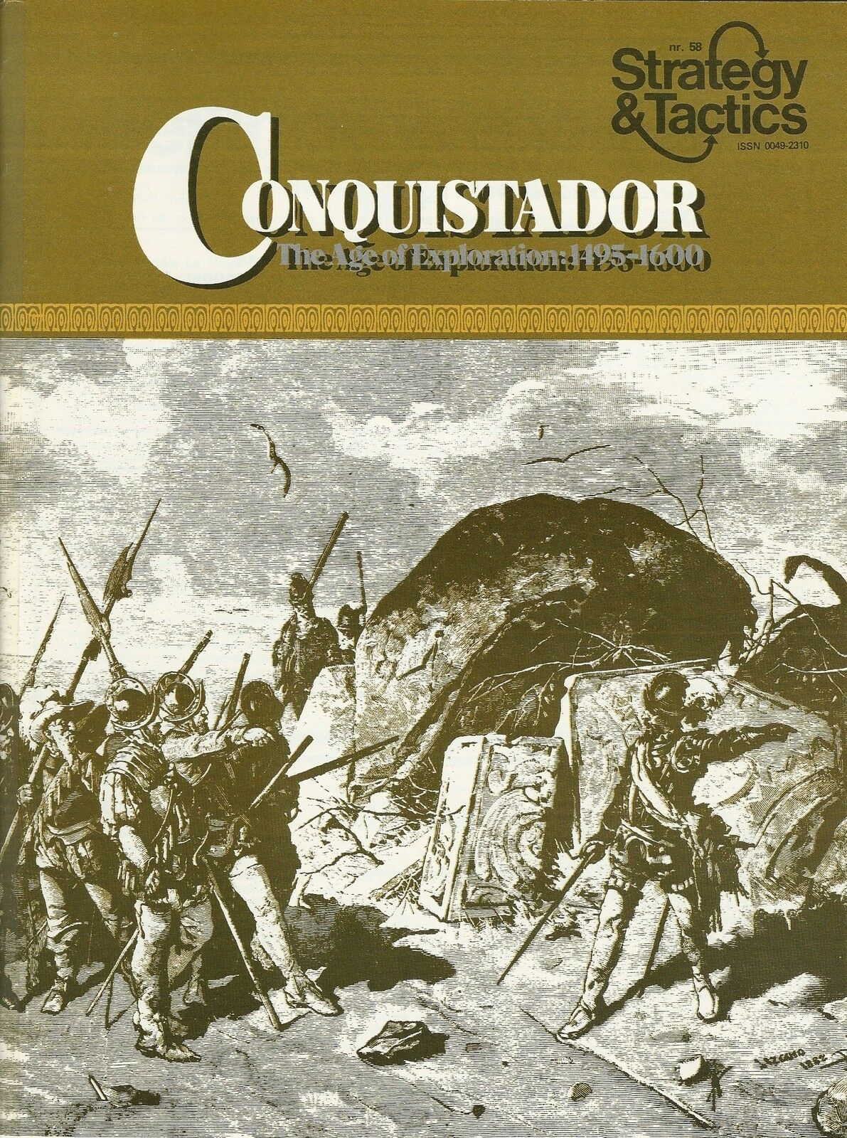 Strategy & Tactics S&T Conquidtador Age of Exploration Solo Unpunched  FS