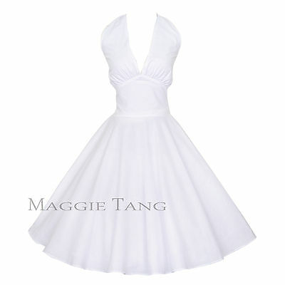 Maggie Tang 50s 60s Vintage Swing Rockabilly Petticoat Dress Ball Gown 504WT