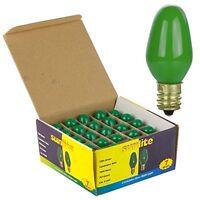 Sunlite 7c7/g Incandescent 7-watt, Candelabra Based, C7 Night Light Colored Bulb on Sale