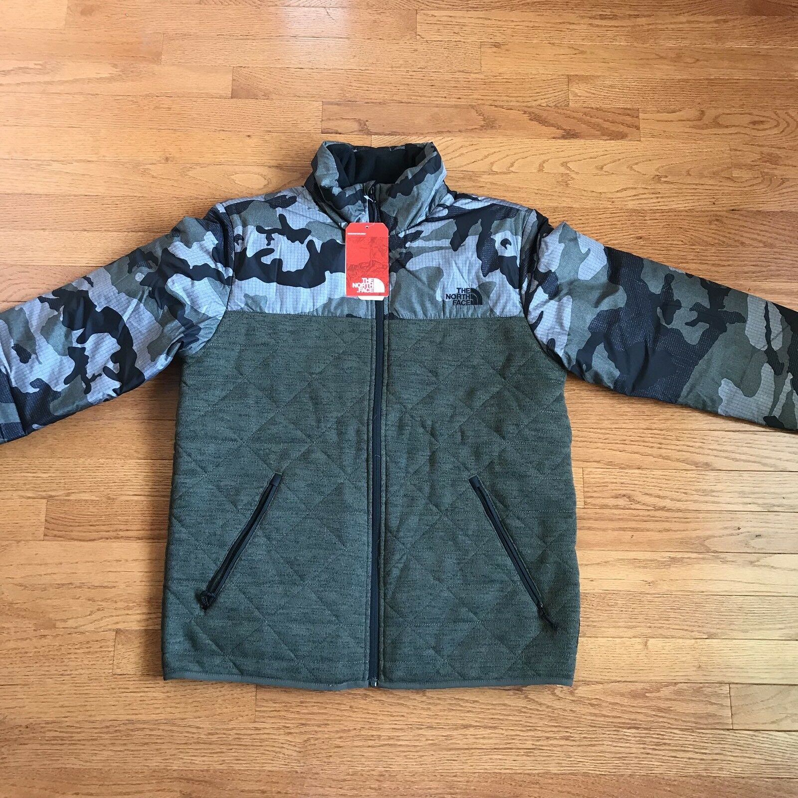 fa36d09e24 The Face Quilted Canyon Jacket New With Tags Camouflage North ...