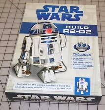 Star Wars: Build R2-D2 Model Kit with LED Lights & Audio Chip- Disney /Lucasfilm