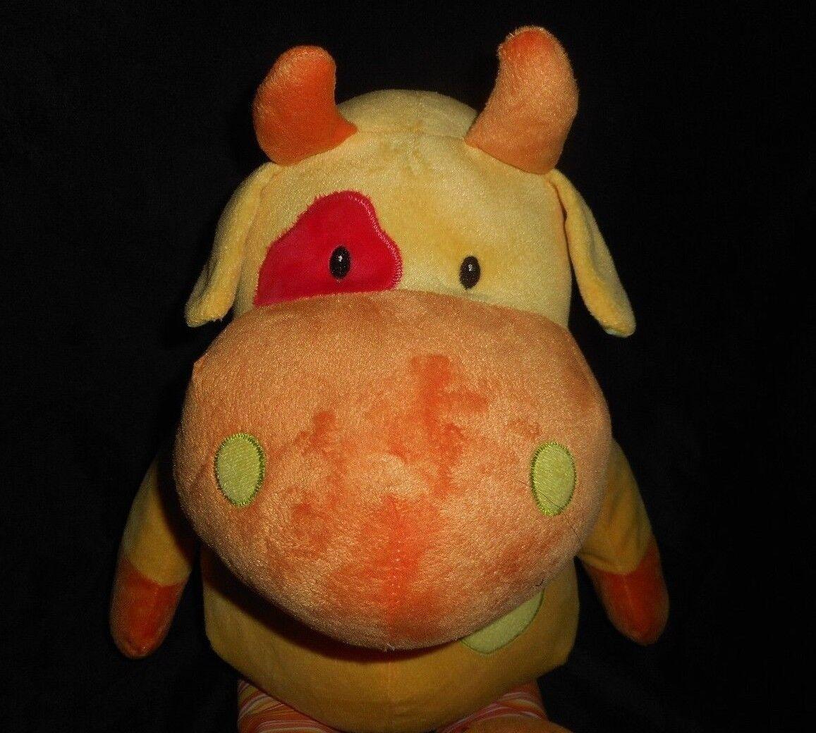24   Groß Beverly Beverly Beverly Hills Teddybär Co Gelb Kuh Plüschtier Spielzeug Lovey 7bea95