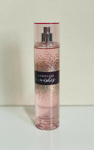 NEW-BATH-amp-BODY-WORKS-FINE-FRAGRANCE-BODY-SPLASH-MIST-SPRAY-A-THOUSAND-WISHES