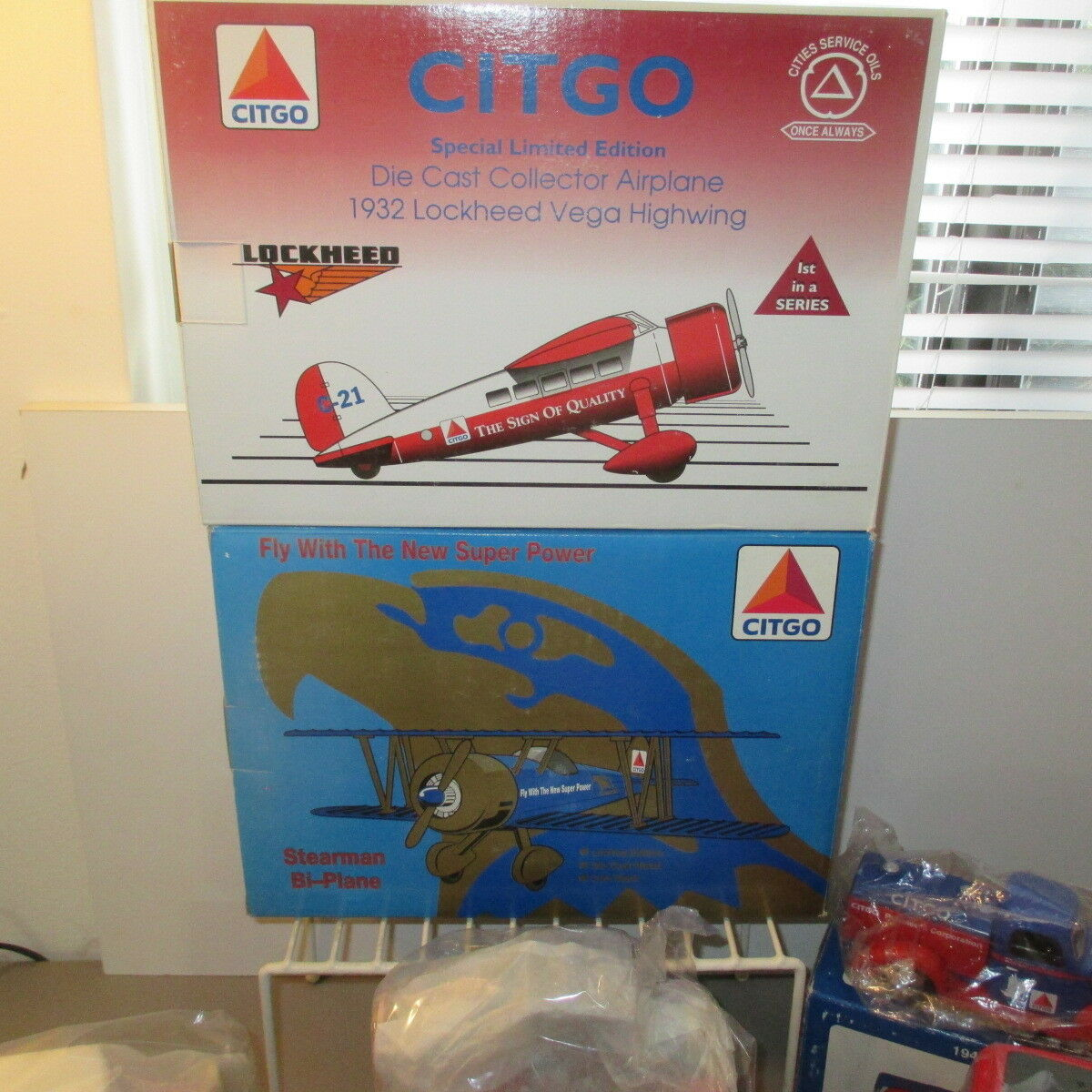 Citgo Gas camión y avión avión avión (9pc), hermoso conjunto, todos en Caja Speccast (NIB) 5479c8