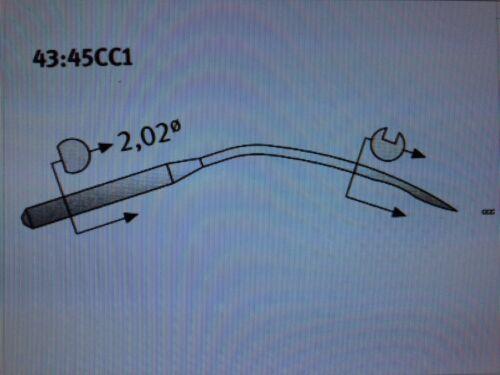 5 Union Special sistema 29-BL Tamaño Agujas casi como nuevo:110//044 Máquina de Coser Industrial