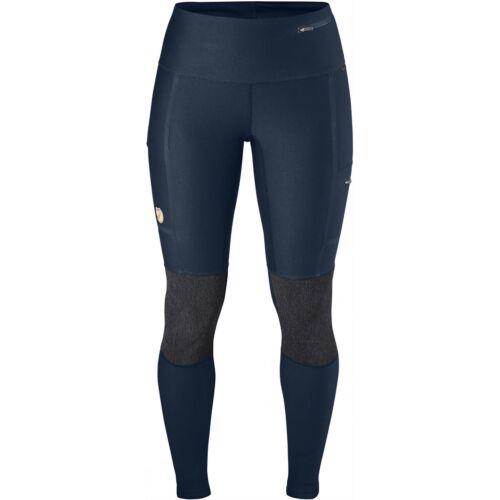 Fjallraven épaisseur Abisko Trekking Collants Femme Pantalon de marche-Bleu Marine Toutes Les Tailles