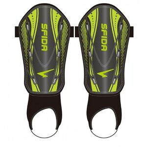 Sfida Shinguards (Black/Lime) + Free AUS Delivery!