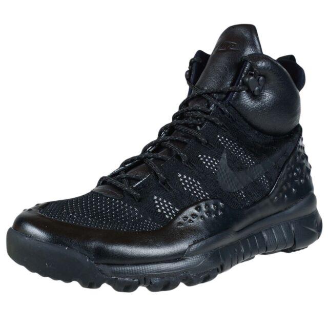 nike lupinek flyknit tre uomini neri sneakerboot fuori le scarpe