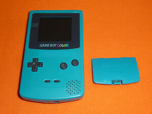 Nintendo Game Boy Color consola turquesa