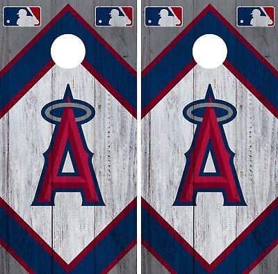 Chicago Cubs Cornhole Wrap MLB Wood Game Board Skin Set Vinyl Decal CO472
