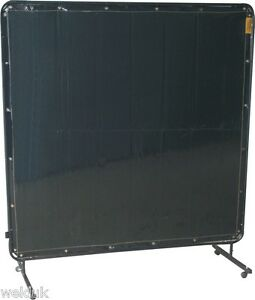 Portable Welding Screen Frame Amp Curtain 1 8 X 1 8 6ft X