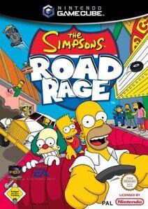 Nintendo-GameCube-Spiel-Simpsons-Road-Rage-mit-OVP