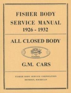 fisher body manual