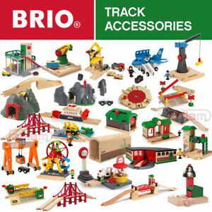 Image Is Loading Brio Wooden Railway Train Set Track Accessories Stations