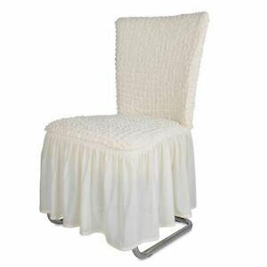 Chair Cover Chair Cover stuhlhuße Stretch Long Cover Decoration Chair Cover Cream-  show original title - Deutschland - Chair Cover Chair Cover stuhlhuße Stretch Long Cover Decoration Chair Cover Cream-  show original title - Deutschland