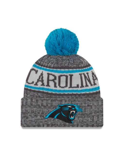 Carolina Panthers New Era 2018 NFL Sideline Sport Knit Hat – Graphite f9da962ae76