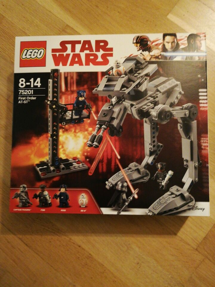 Lego Star Wars, 74201 first order at-st