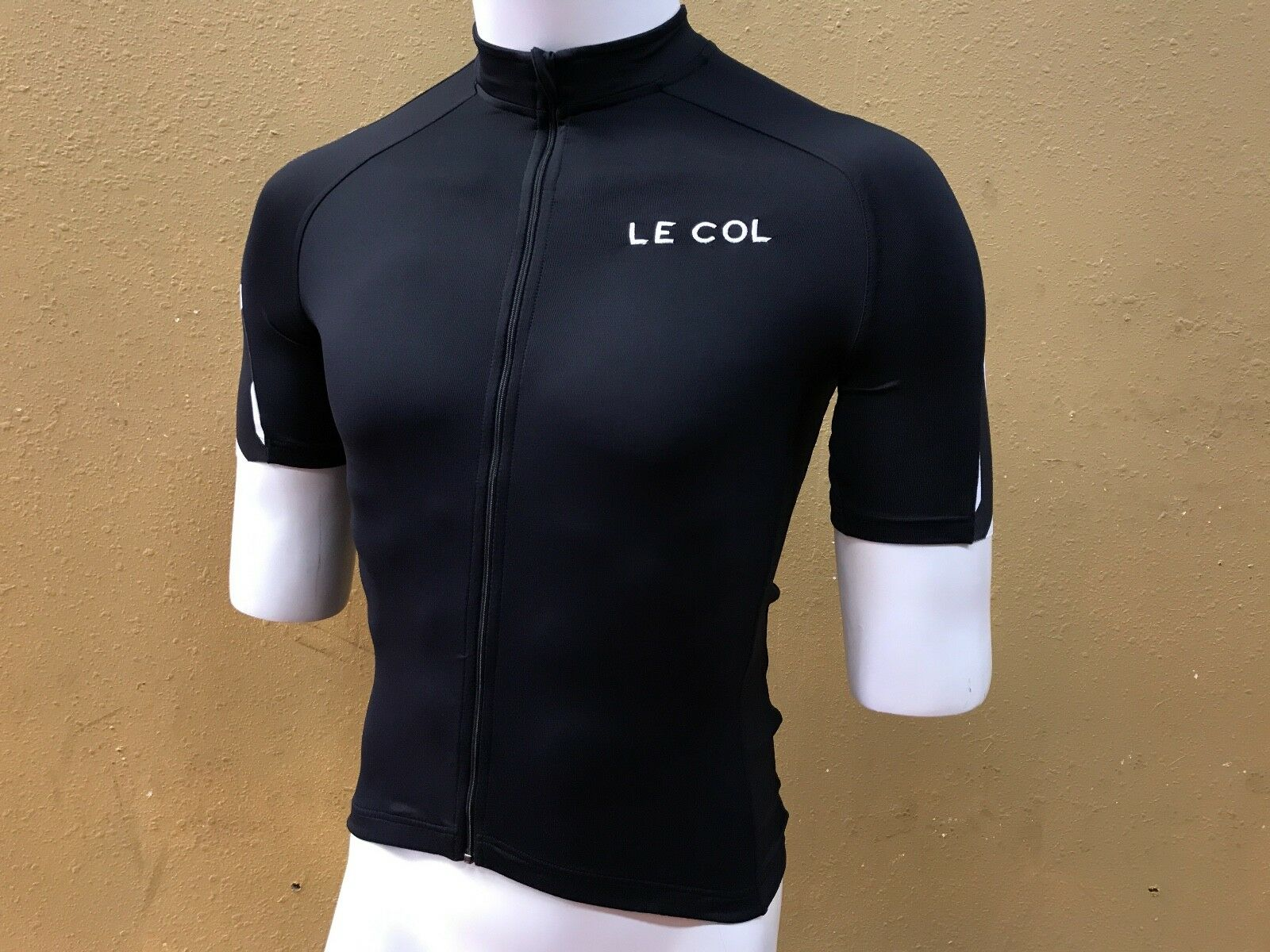 BRAND Small NEW Le Col HC Short Sleeve Jersey Zebra Small BRAND 53bbed
