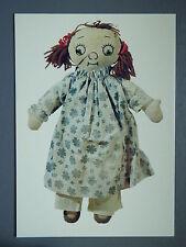R&L Modern Postcard: Soft Plush Toy Rag Doll Dolly 1982, Raggedy Ann