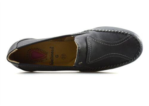 Femme Mi Talon Compensé Confort À Enfiler Smart Casual travail Escarpins Chaussures Taille