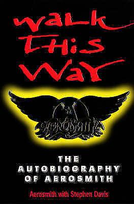 1 of 1 - Walk This Way: The Autobiography Of Aerosmith, Davis, Stephen, Aerosmith, Very G