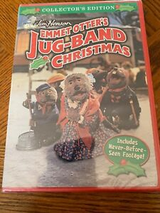 Emmet Otters Jug Band Christmas Book.Details About New Jim Henson Emmet Otter S Jug Band Christmas Dvd 1977 Collector S Edition