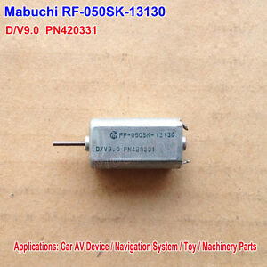 Details about MABUCHI Motor FF-050SK-13130 D/V9 0 Micro FF-050 DC Motor