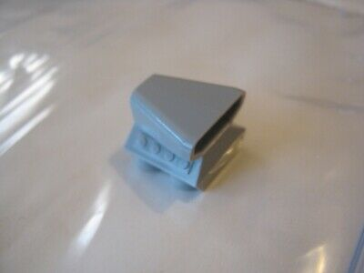 LEGO Flat Silver Vehicle Air Scoop Top 2x2 Lot of 100 Parts Pieces 50943