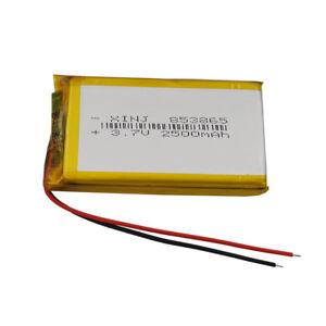 3-7V-2500-mAh-ION-LITIO-celulas-de-polimero-Lipo-Para-Gps-Ipod-Camara-Tablet-PC-853865