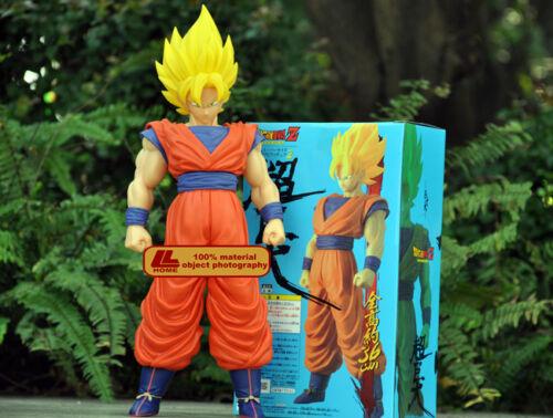 """ANIME Dragon Ball Z Super Saiyan SON GOKU 14/"""" big PVC Action FIGURE TOY GIFT NIB"""