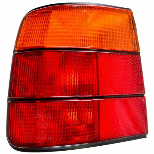 Red /& Amber Taillight Left Driver Taillamp Rear Brake Light for 89-95 BMW 525i