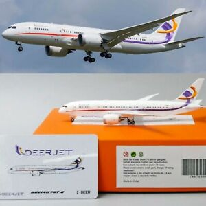 RARE-Deerjet-B787-8-Reg-2-DEET-EW-Wings-Diecast-Models-Scale-1-400