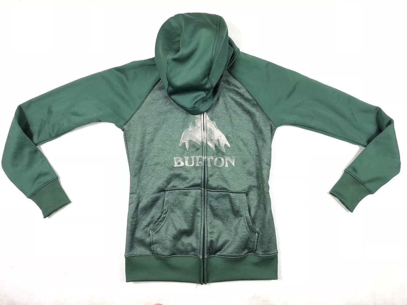 Burton Mens Dryride Green  Hoodie Size Small  discount sale