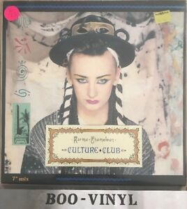 Vinyl-Record-12-039-039-Single-CULTURE-CLUB-KARMA-CHAMELEON-Vs-612-12-Ex