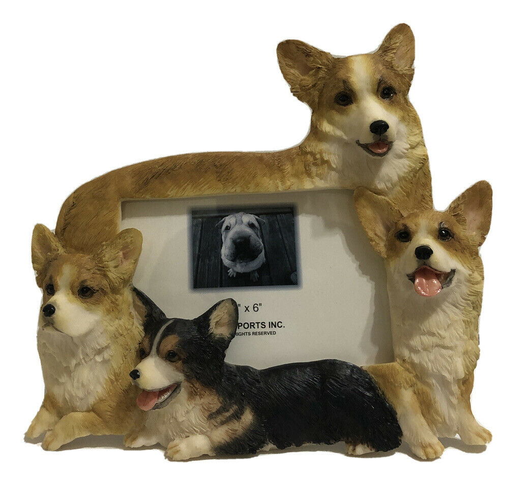 Welsh Corgi 3 D Wood Photo Frame For Sale Online Ebay