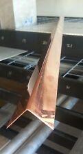 Copper Sheet Angle 021 16oz 24 Gauge 1 12 X 1 12 X 48