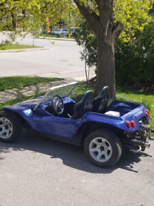Street legal dune buggy and fast
