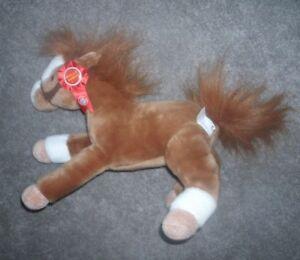 Pasadena Tournament Of Roses Wells Fargo Lighting Pony Horse Plush Animal