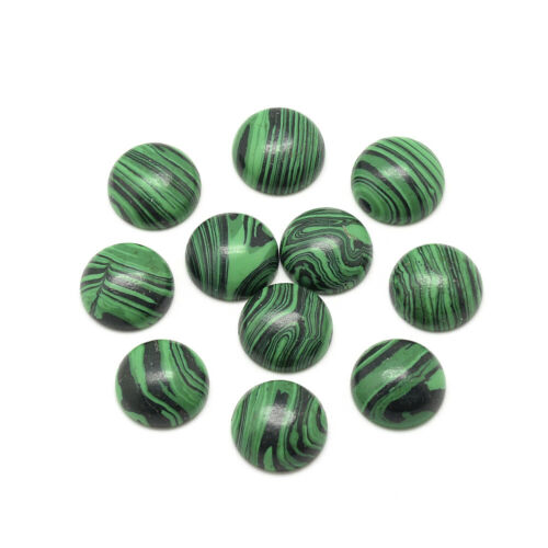 50pcs Flat Back Stone Cabochons Round Smooth Dome Cameos Tiles 6//8//10//12//14//16mm