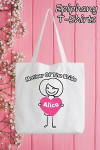 Mother Of The Bride Personalised Tote Bag Funny Gift Hen Party Wedding Add Name