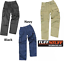 BRAND NEW MENS TUFF STUFF HEAVY DUTY COMBAT WORK TROUSERS WITH KNEE PAD POUCHES