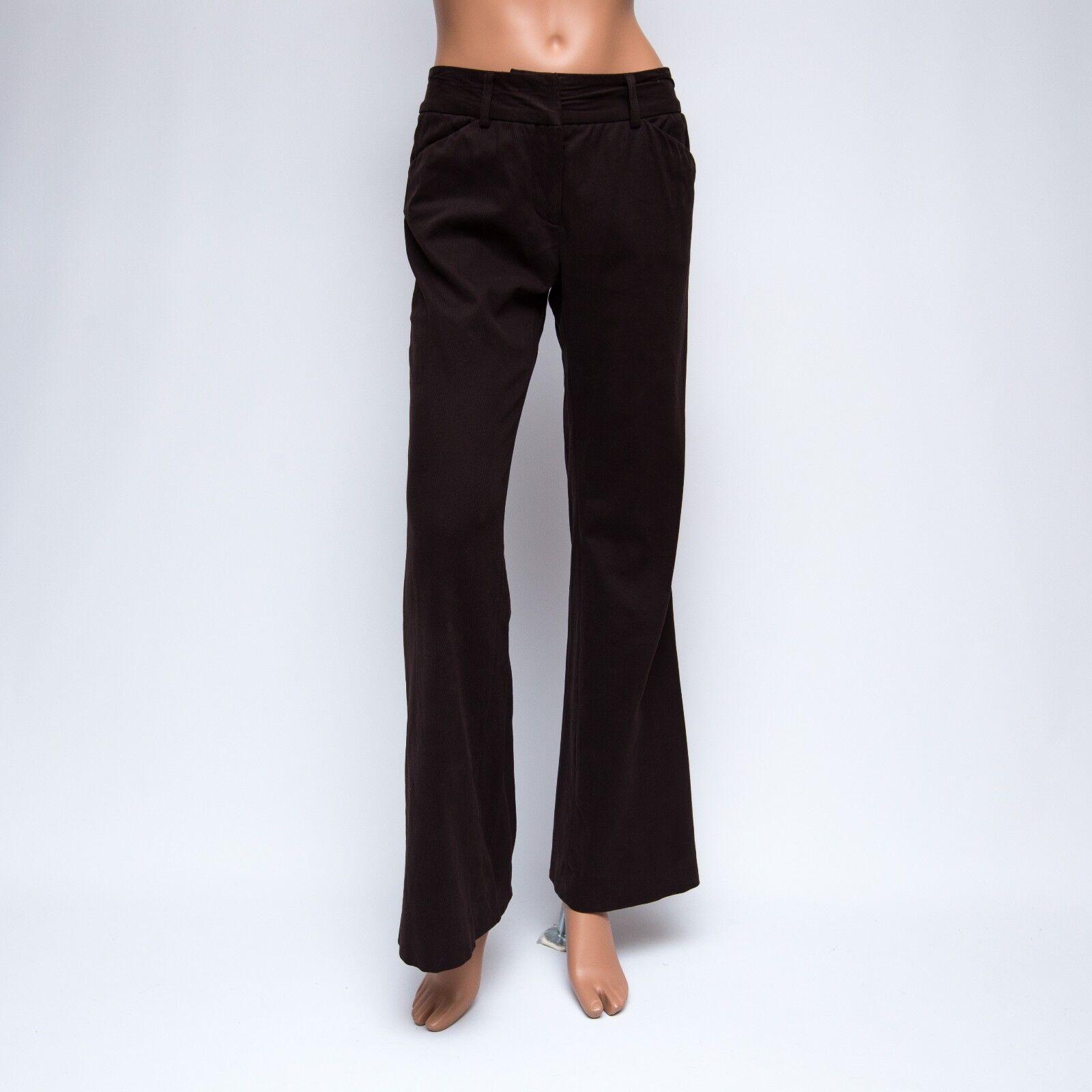 Shin Choi 2x31 braun Mid-weight Flarot Pants  245
