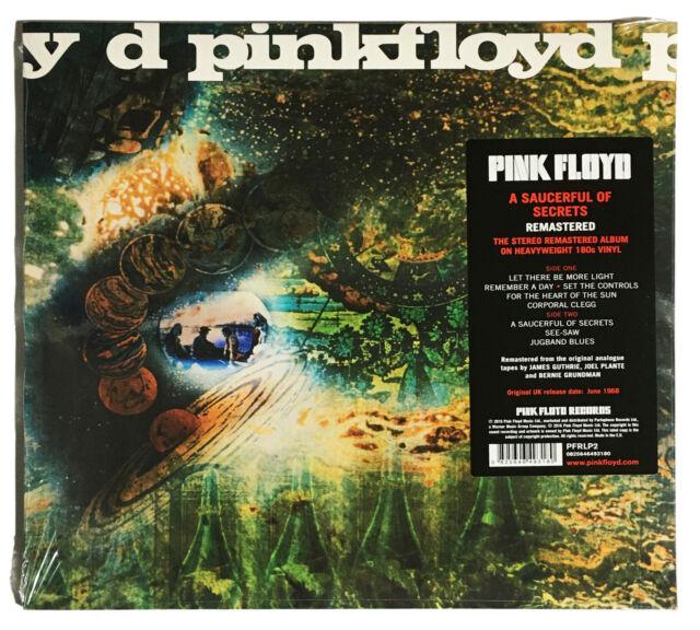 Pink Floyd 'A Saucerful of Secrets' 180g LP Vinyl Remastered - Sealed