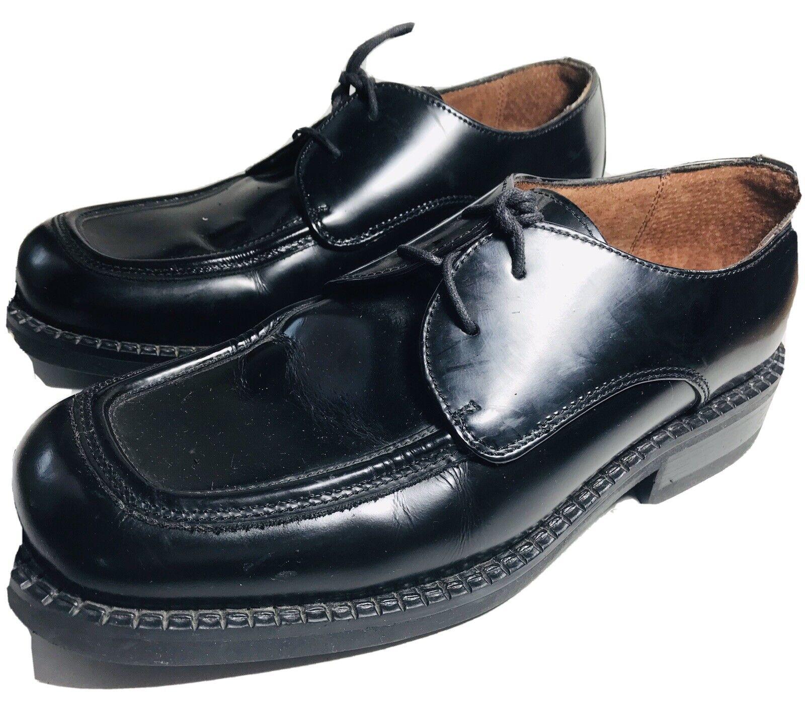 Reaction Kenneth Cole Men's Size 9 Black Leather Oxford Dress Shoes