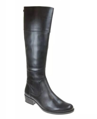 USS* Womens Caprice Kania 23 XS Black Leather Tall Boots UK 5G