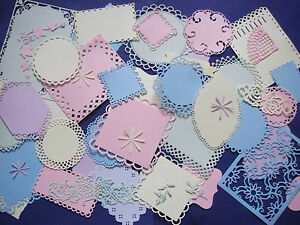 Large amount of pastel mixed shaped die cuts Cheery Lynn Memory Box and more - Middlesex, United Kingdom - Large amount of pastel mixed shaped die cuts Cheery Lynn Memory Box and more - Middlesex, United Kingdom