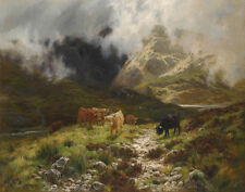 Louis Bosworth Hurt The Unveiling Of The Hills Canvas 16 x 20   #3510