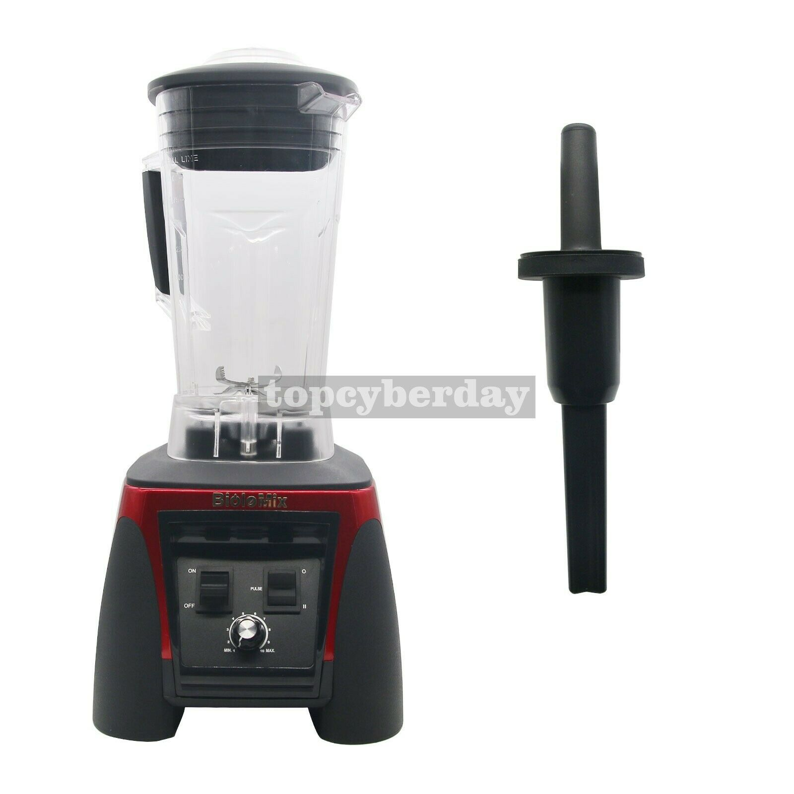 Qualité Heavy Duty Commercial Blender Mixer Juicer Food Processor 110V 220V