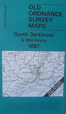 OLD ORDNANCE SURVEY MAP EXETER /& THE LOWER EXE VALLEY  /& Plan Whimple 1888 S 325