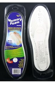 2-Memory-Foam-Shoe-Insoles-Unisex-Insert-Comfort-Pads-Foot-Cushion-Size-Chart